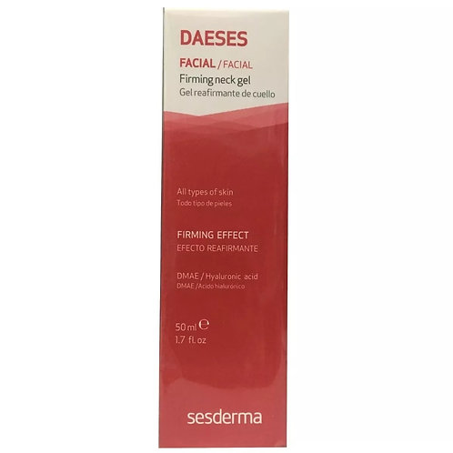 DAESES FIRMEZA DO PESCOÇO GEL 50ml - Sesderma