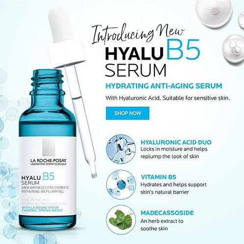 HYALU B5 SÉRUM ANTI-IDADE 30ml - La Roche-Posay