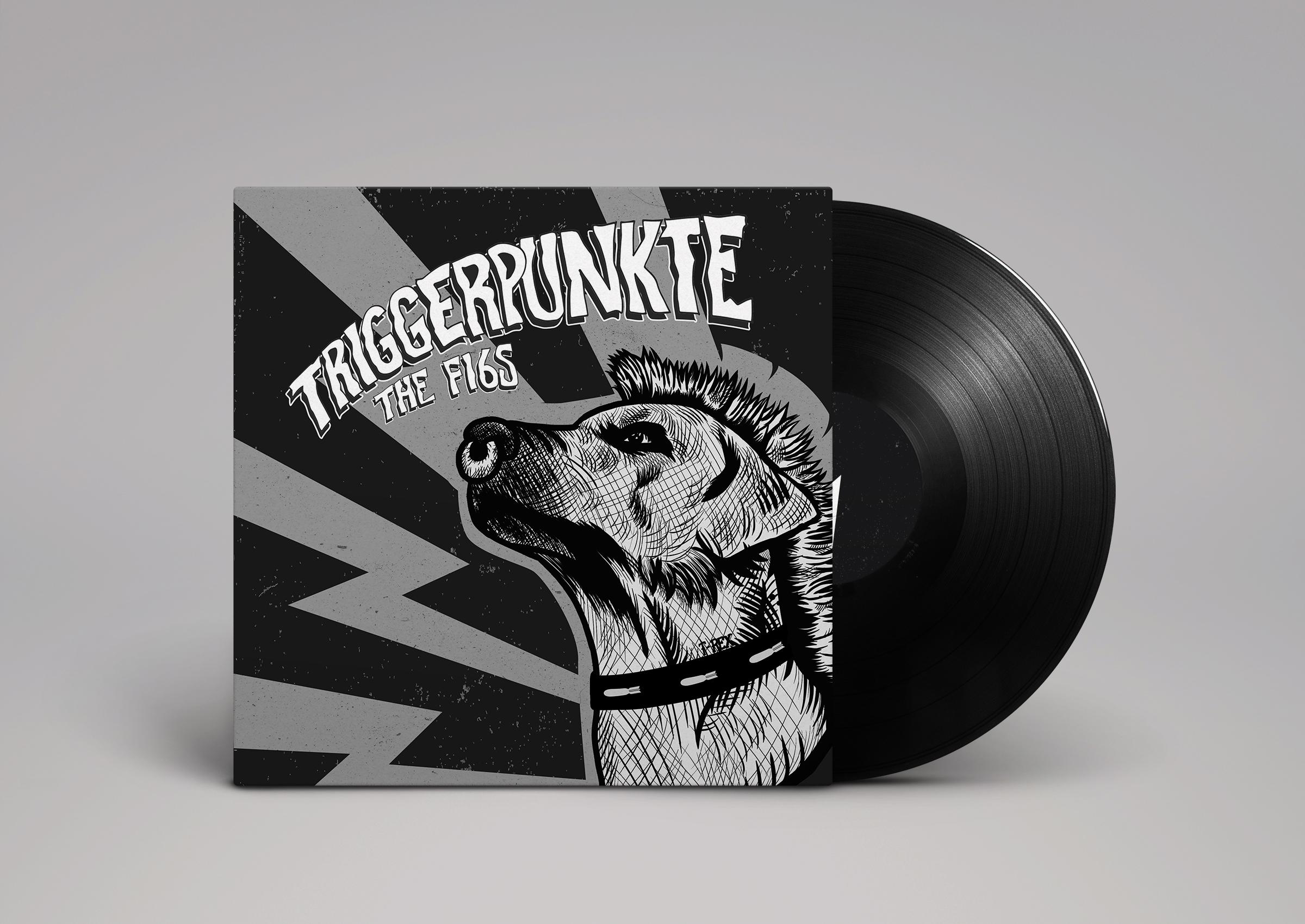 Triggerpunkte Vinyl Mockup