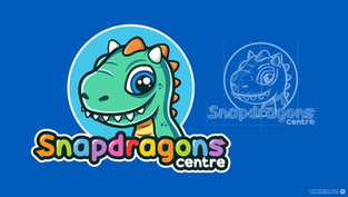 Snapdragons Centre Logo Design