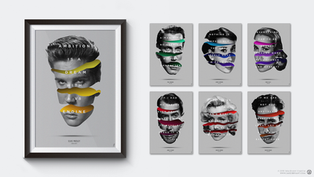 Hollywood Icons Poster Collection
