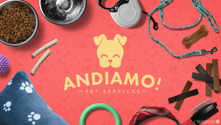 Andiamo! Pet Services Brand Identity