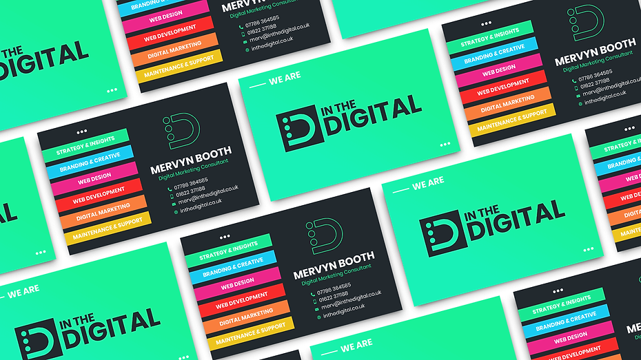 In The Digital Business Cards Graphic Design Jake Bryant Creative