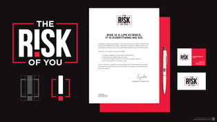 The Risk of You Corporate Brand Identity