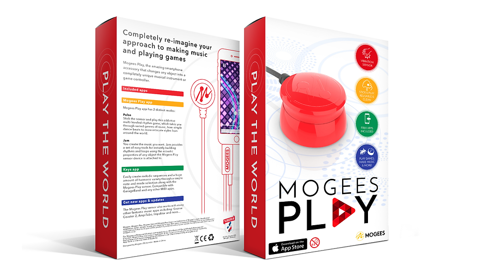 Mogees Play Final Packaging Designs Graphic Design Jake Bryant Creative