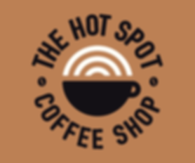 The Hot Spot Coffee Shop Logo Graphic Design Jake Bryant Creative