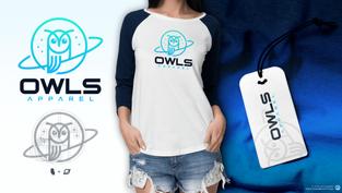 Owls Apparel Logo Design