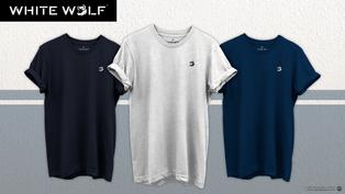 White Wolf Clothing Logo Design