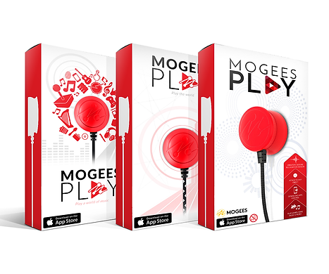 Mogees Play Early Packaging Mock Ups Graphic Design Jake Bryant Creative