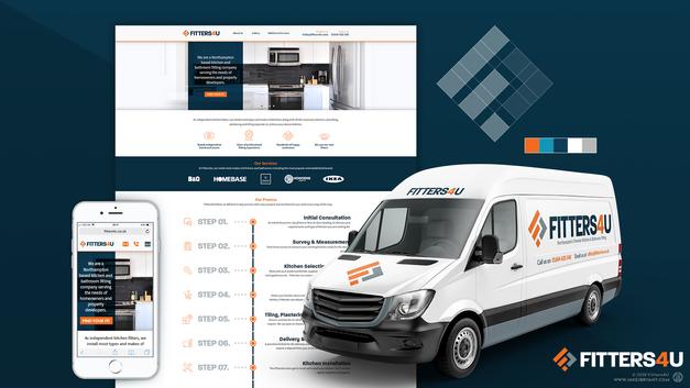 Fitters4U Brand Identity & Web Design