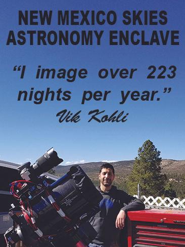 NM Skies Astronomy Enclave -1 Vik for NE
