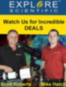 Small Advertisment NEAF - Explore Scient