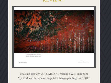 Chestnut Review VOLUME 2 NUMBER 3