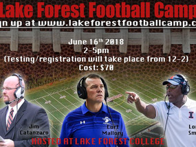 Lake Forest Football Camp