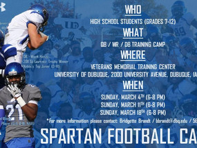 UD - Spartan Football Camps