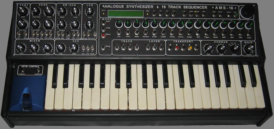 AMS-16 Analog Mono Synthesizer