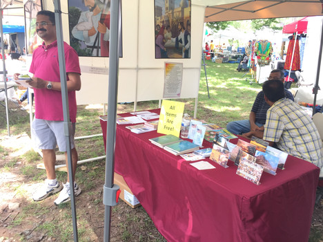 Booth at Maplewoodstock