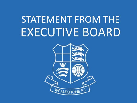 STATEMENT FROM THE EXECUTIVE BOARD