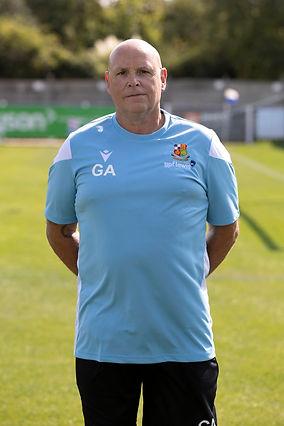 Gary Sanders Head of Physical Performanc