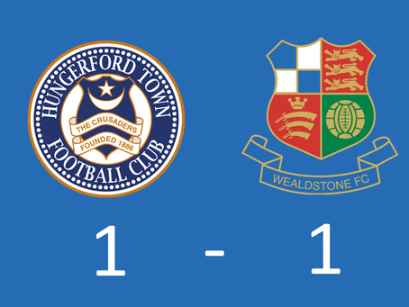 Report - Hungerford Town 1 - 1 Wealdstone FC