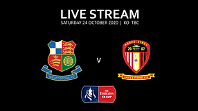 Current Match Poster - FA Cup v Hayes &