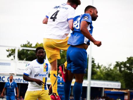 Report - Billericay Town 1 - 0 Wealdstone