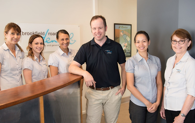 Dr Phillip Rigby and his team at Brookfield Road Dental