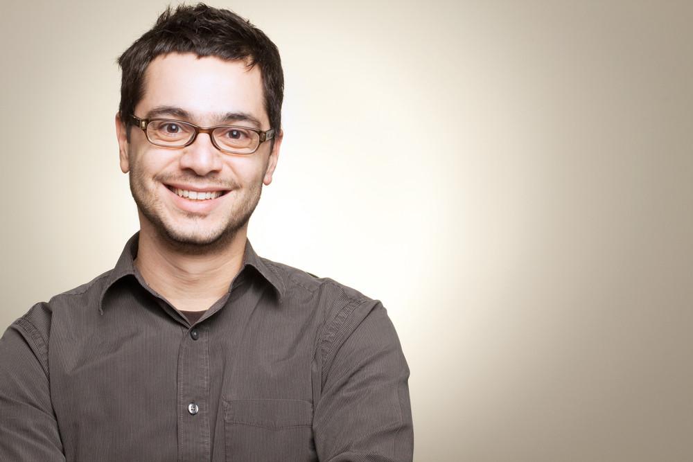 Man smiling showing teeth