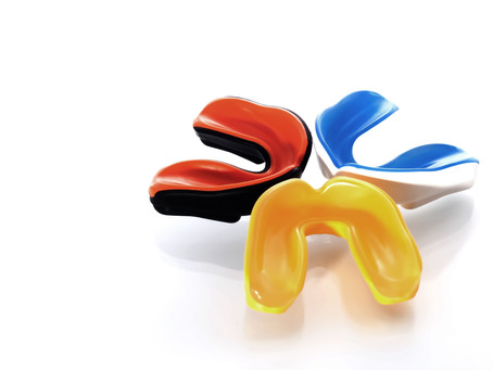 It's mouthguard time