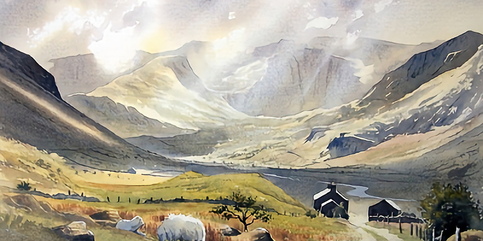 Christopher Hull Snowdonia landscapes
