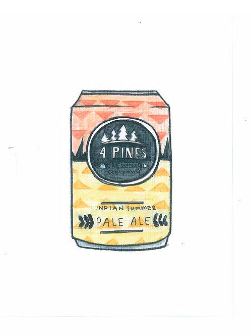 4 Pines Tinnie Print