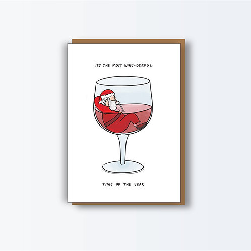 Wine-derful Christmas Cards