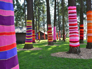 Yarn Bombing: The Guerrilla Knitting Movement
