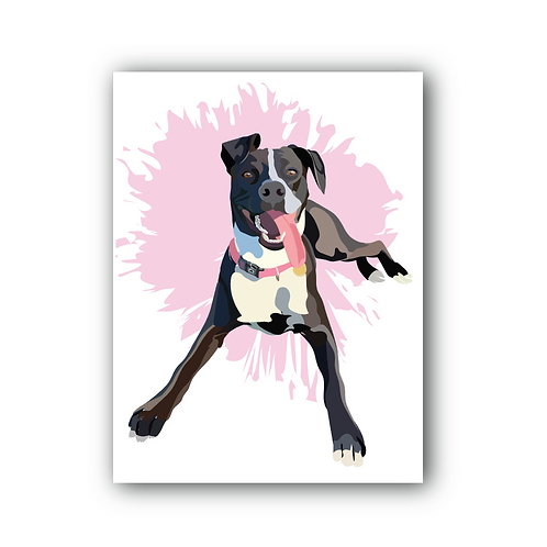 Pet Pawtrait - Physical Print Package