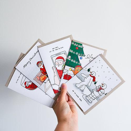 Custom Christmas Card 10 Pack