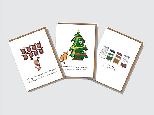 Christmas Card 6 Pack