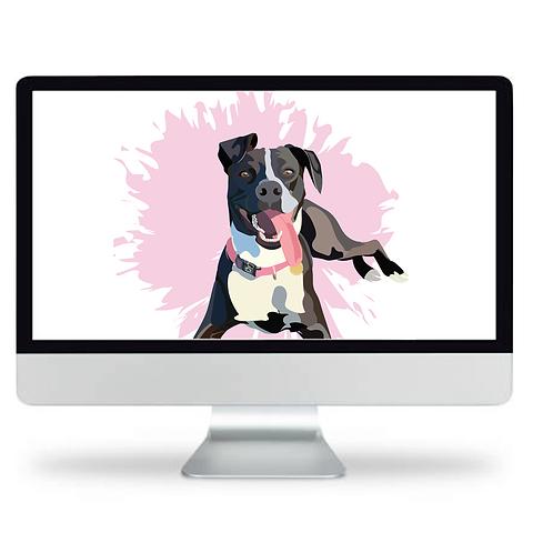 Pet Pawtrait - Digital Package