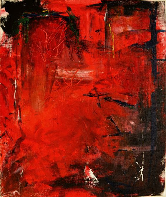 """Painting: """"Anger"""" by Alsath"""