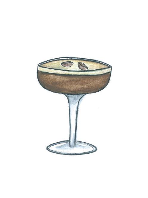Espresso Martini Print