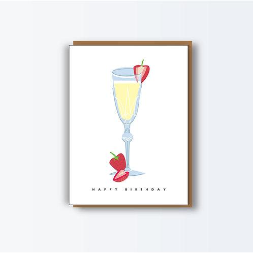 Champagne Bday