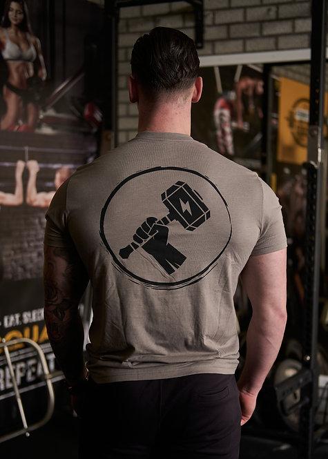Essential T-shirt Stone Grey