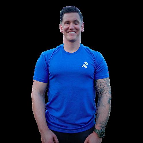 Basic T-shirt Kobalt Blue