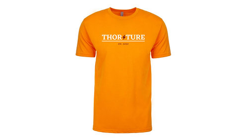 Thunder T-shirt orange