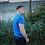 Thumbnail: Basic T-shirt Kobalt Blue