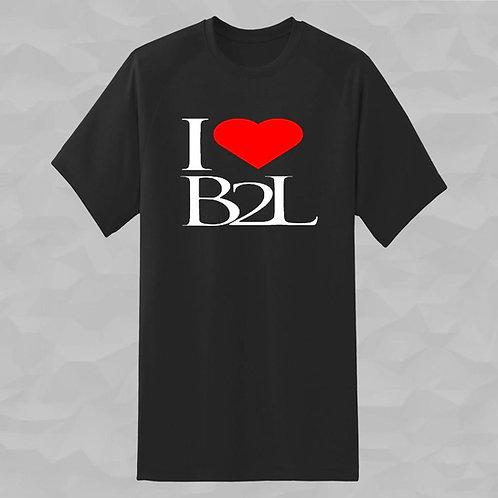 Short Sleeve B2L T-Shirt - I Heart B2L