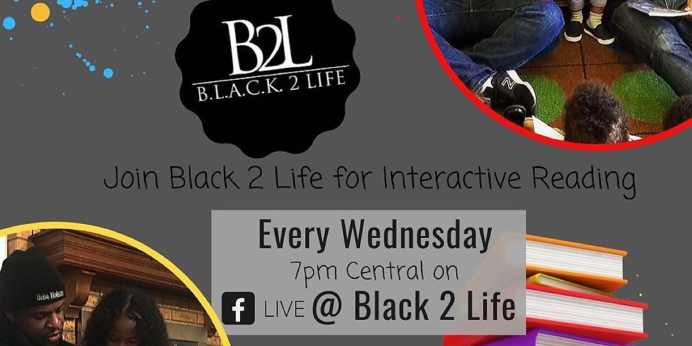 Reading Night with BLACK 2 Life