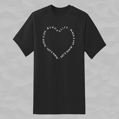 Short Sleeve B2L T-Shirt - Heart
