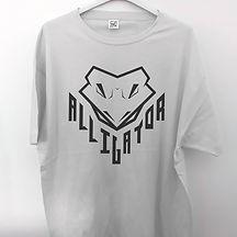 camiseta serigrafía caimán