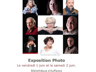 Exposition photo de L'Atelier Photo