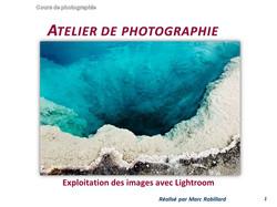 2016-12-06-Post-traitement Exploitation des images